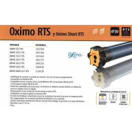 Motor Oximo 15/17 rts (30 kg)