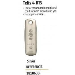 Mando Somfy Telis 4 rts Silver