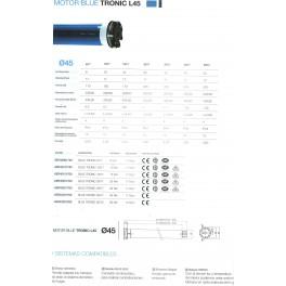 Motor Blue Tronic 25/17 rts (50 kg) cherubini