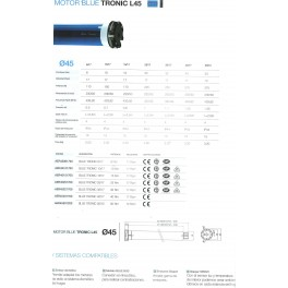 Motor Blue tronic 15/17 rts (30 kg) cherubini
