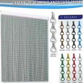 Cortina aluminio crisax mosquiteras y motores para - Cortinas de cadenas ...